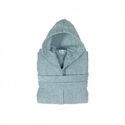 Μπουρνούζι με κουκούλα, παιδικό 8-10, Μπλε, Σειρά Comfort, 420gr/m², Πενιέ,  FENNEL BRHC-Y8-10-BL