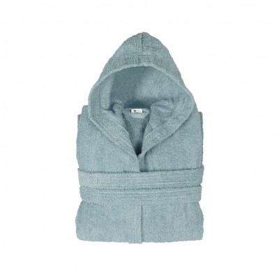 Μπουρνούζι με κουκούλα, παιδικό 12-14, Μπλε, Σειρά Comfort, 420gr/m², Πενιέ,  FENNEL BRHC-Y12-14-BL