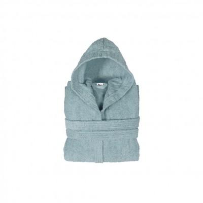 Μπουρνούζι με κουκούλα, παιδικό 4-6, Μπλε, Σειρά Comfort, 420gr/m², Πενιέ,  FENNEL BRHC-Y4-6-BL