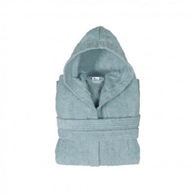 Μπουρνούζι με κουκούλα, παιδικό 10-12, Μπλε, Σειρά Comfort, 420gr/m², Πενιέ,  FENNEL BRHC-Y10-12-BL