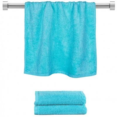 Πετσέτα προσώπου γαλάζιο 50x100cm, 100% Bamboo, 650gr/m²,  FENNEL TWBA-50100-CN