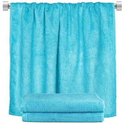 Πετσέτα σώματος γαλάζιο 100x150cm, 100% Bamboo, 650gr/m²,  FENNEL 27460