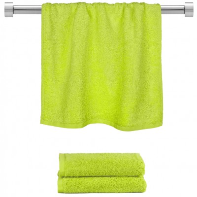 Πετσέτα προσώπου λαχανί 50x100cm, 100% Bamboo, 650gr/m²,  FENNEL 27468