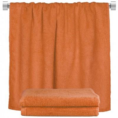 Πετσέτα σώματος πορτοκαλί 100x150cm, 100% Bamboo, 650gr/m²,  FENNEL 27465