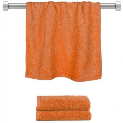 Πετσέτα προσώπου πορτοκαλί 50x100cm, 100% Bamboo, 650gr/m²,  FENNEL TWBA-50100-PMP