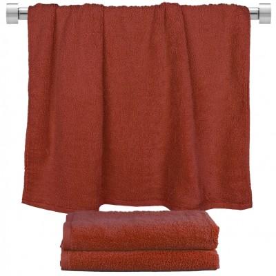 Πετσέτα μπάνιου μπορντώ 70x140cm, 100% Bamboo, 650gr/m²,  FENNEL 27479