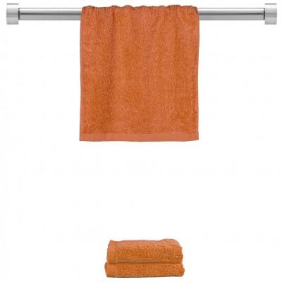 Πετσέτα χεριών πορτοκαλί 30x50cm, 100% Bamboo, 650gr/m²,  FENNEL 27462