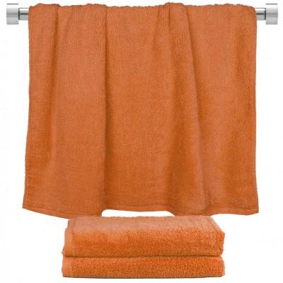 Πετσέτα μπάνιου πορτοκαλί 70x140cm, 100% Bamboo, 650gr/m²,  FENNEL TWBA-70140-PMP