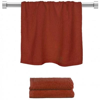 Πετσέτα προσώπου μπορντώ 50x100cm, 100% Bamboo, 650gr/m²,  FENNEL TWBA-50100-BD
