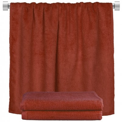 Πετσέτα σώματος μπορντώ 100x150cm, 100% Bamboo, 650gr/m²,  FENNEL 27480
