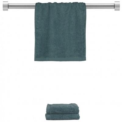 Πετσέτα χεριών ραφ μπλε 30x50cm, 100% Bamboo, 650gr/m²,  FENNEL TWBA-3050-RB