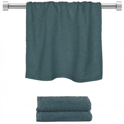 Πετσέτα προσώπου ραφ μπλε 50x100cm, 100% Bamboo, 650gr/m²,  FENNEL 27483