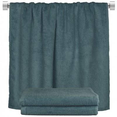 Πετσέτα σώματος ραφ μπλε 100x150cm, 100% Bamboo, 650gr/m²,  FENNEL 27485