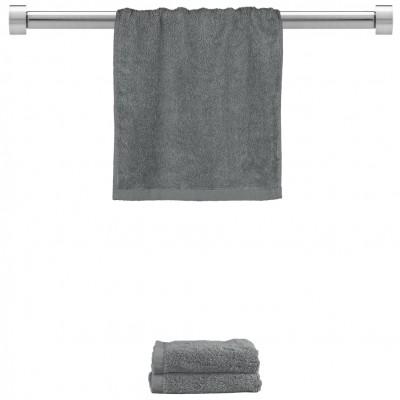 Πετσέτα χεριών σκούρο γκρι 30x50cm, 100% Bamboo, 650gr/m²,  FENNEL 27472