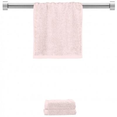 Πετσέτα χεριών ροζ 30x50cm, 100% Bamboo, 650gr/m²,  FENNEL 27447