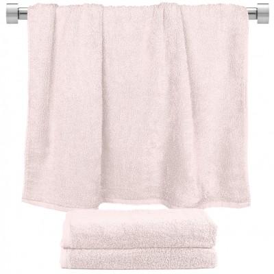 Πετσέτα μπάνιου ροζ 70x140cm, 100% Bamboo, 650gr/m²,  FENNEL 27449
