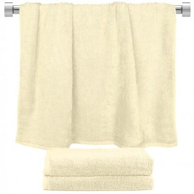 Πετσέτα μπάνιου κρεμ 70x140cm, 100% Bamboo, 650gr/m²,  FENNEL 27454
