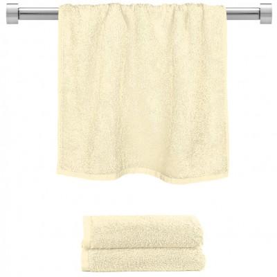 Πετσέτα προσώπου κρεμ 50x100cm, 100% Bamboo, 650gr/m²,  FENNEL 27453