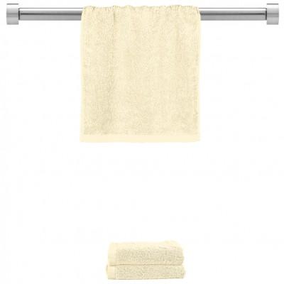Πετσέτα χεριών κρεμ 30x50cm, 100% Bamboo, 650gr/m²,  FENNEL 27452