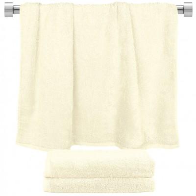 Πετσέτα μπάνιου εκρού 70x140cm, 100% Bamboo, 650gr/m²,  FENNEL 27444