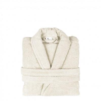 Μπουρνούζι με γιακά, XL, εκρου, Σειρά Comfort, 420gr/m², Πενιέ,  FENNEL 26094