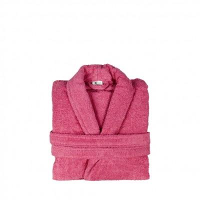 Μπουρνούζι με γιακά, Small, Φούξια, Σειρά Comfort, 420gr/m², Πενιέ,  FENNEL 26105