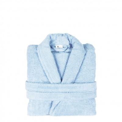 Μπουρνούζι με γιακά, XL, Θαλασσί, Σειρά Comfort, 420gr/m², Πενιέ,  FENNEL 26110