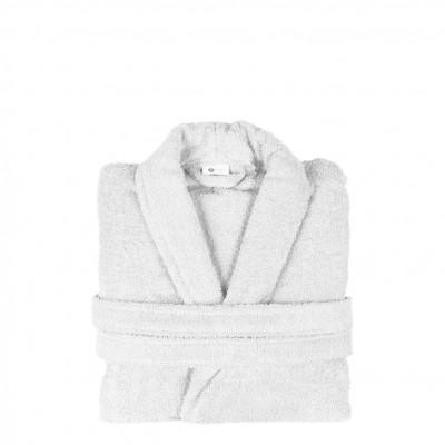 Μπουρνούζι με γιακά, XL, Λευκό, Σειρά Comfort, 420gr/m², Πενιέ,  FENNEL 26090