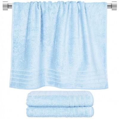 Πετσέτα μπάνιου θαλασσί 70x140 cm, Σειρά Comfort, 500gr/m², Πενιέ,  FENNEL 26018