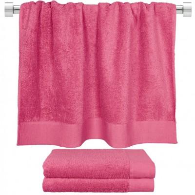 Πετσέτα μπάνιου φούξια 80x150 cm, Σειρά Premium , 600gr/m², Πενιέ,  FENNEL 26057
