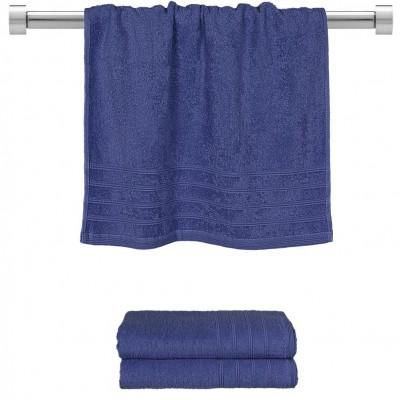 Πετσέτα προσώπου μπλε 50x90 cm, Σειρά Comfort, 500gr/m², Πενιέ,  FENNEL 26008