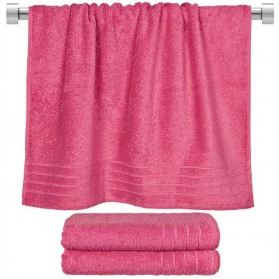 Πετσέτα μπάνιου φούξια 70x140 cm, Σειρά Comfort, 500gr/m², Πενιέ,  FENNEL 26021