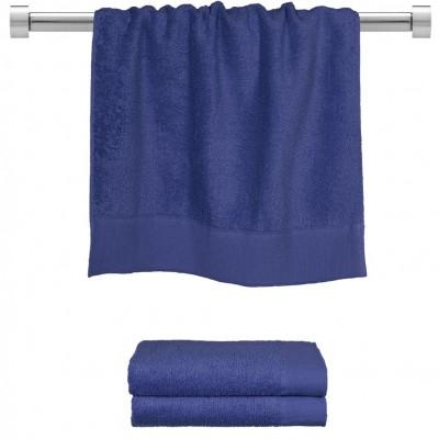 Πετσέτα προσώπου μπλε 50x100 cm, Σειρά Premium , 600gr/m², Πενιέ,  FENNEL 26044
