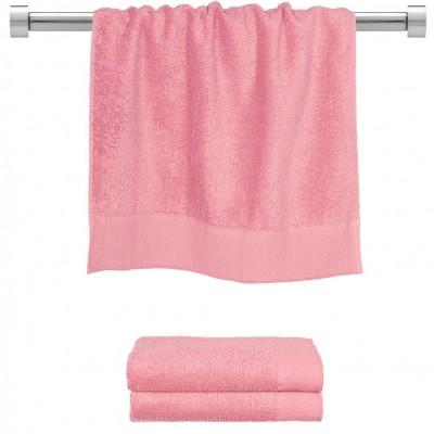 Πετσέτα προσώπου ροζ 50x100 cm, Σειρά Premium , 600gr/m², Πενιέ,  FENNEL 26041