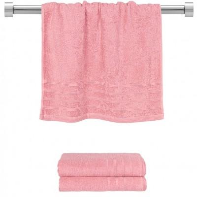 Πετσέτα προσώπου ροζ 50x90 cm, Σειρά Comfort, 500gr/m², Πενιέ,  FENNEL 26005