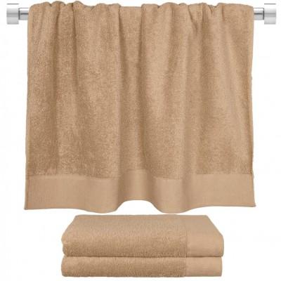 Πετσέτα μπάνιου μπεζ 80x150 cm, Σειρά Premium , 600gr/m², Πενιέ,  FENNEL 26058