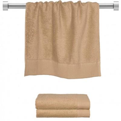 Πετσέτα προσώπου μπεζ 50x100 cm, Σειρά Premium , 600gr/m², Πενιέ,  FENNEL 26046