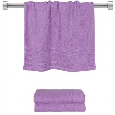 Πετσέτα προσώπου μωβ 50x90 cm, Σειρά Comfort, 500gr/m², Πενιέ,  FENNEL 26014