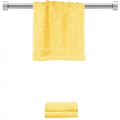 Πετσέτα χεριών κίτρινη 30x50 cm, Σειρά Comfort, 500gr/m², Πενιέ,  FENNEL 26001