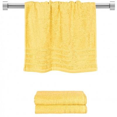 Πετσέτα προσώπου κίτρινη 50x90 cm, Σειρά Comfort, 500gr/m², Πενιέ,  FENNEL TWCO-5090-YE