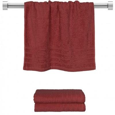 Πετσέτα προσώπου μπορντώ 50x90 cm, Σειρά Comfort, 500gr/m², Πενιέ,  FENNEL 26012