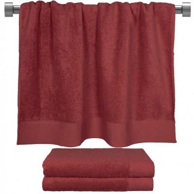Πετσέτα μπάνιου μπορντώ 80x150 cm, Σειρά Premium , 600gr/m², Πενιέ,  FENNEL 26060