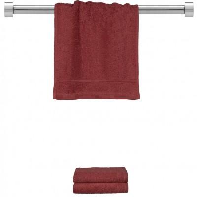 Πετσέτα χεριών μπορντώ 30x50 cm, Σειρά Comfort, 500gr/m², Πενιέ,  FENNEL 26000