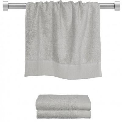 Πετσέτα προσώπου γκρι 50x100 cm, Σειρά Premium , 600gr/m², Πενιέ,  FENNEL 26043