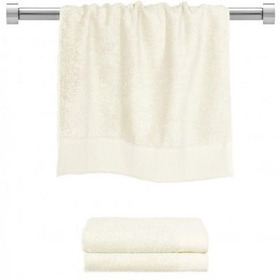 Πετσέτα προσώπου εκρου 50x100 cm, Σειρά Premium , 600gr/m², Πενιέ,  FENNEL TWPR-50100-EC
