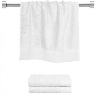Πετσέτα προσώπου άσπρη 50x100 cm, Σειρά Premium , 600gr/m², Πενιέ,  FENNEL 26039