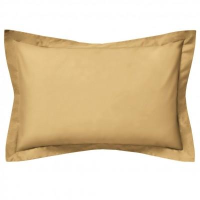 Σετ 2 μαξιλαροθήκες 50x75+Oxford 5cm, 100% βαμβακερό, 205 κλωστές, καφέ καμήλας FENNEL OP2P-5075-CA