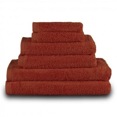 Πετσέτα χεριών μπορντώ 30x50cm, 100% Bamboo, 650gr/m²,  FENNEL 27477