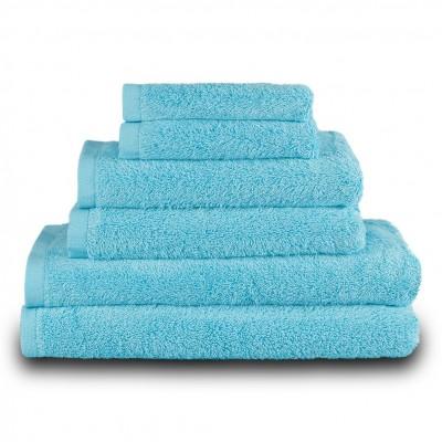 Πετσέτα μπάνιου γαλάζιο 70x140cm, 100% Bamboo, 650gr/m²,  FENNEL 27459