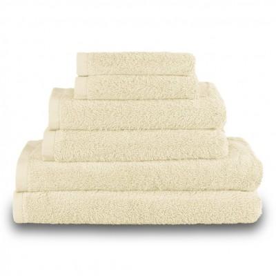 Πετσέτα σώματος κρεμ 100x150cm, 100% Bamboo, 650gr/m²,  FENNEL 27455